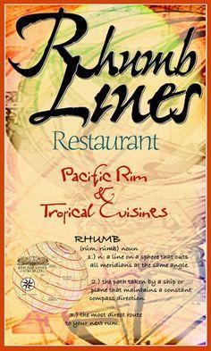 Rhumb Lines Restaurant--St. John, USVI