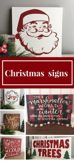 Ohh who can resist the beautiful design Christmas signs, they are perfect for any Christmas decor, I want one of each!! #ad #christmassigns #christmasdecor