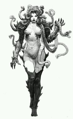 madness-and-gods: medusa v01 by *AlexPascenko on deviantart