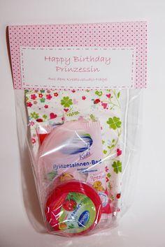 Kleines Prinzessinen Geschenk