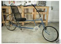 This DVD video walks you through the frame building process in building the RB-LWB recumbent bicycle. Description from auctions.findtarget.com. I searched for this on bing.com/images