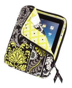 OMG! A Vera iPad cover!?! I want it now! -- And I got it for Christmas. So cute!