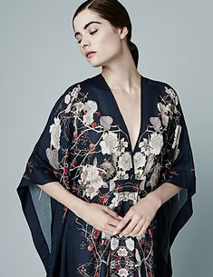 Best Loungewear: Meng. The prints on these luxurious silk robes are absolutely stunning.