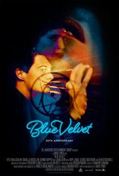 Blue Velvet, David Lynch, 1986 [30th anniversary release poster]