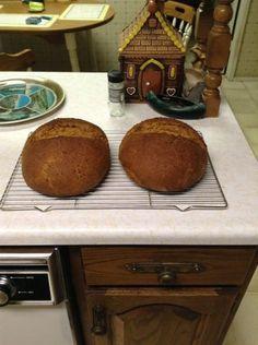 Pumpernickel – Dark Rye Bread Recipe – Rural Alberta Home Cooking Dark Rye Bread Recipe, Rye Bread Recipes, Dry Yeast, Cooking Recipes, Tasty, Baking, Desserts, Food, Tailgate Desserts