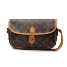 Louis Vuitton GibecierePM Monogram Cross body bags Brown Canvas M42248