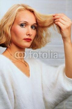 Haarpflege bei haarausfall frau