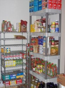 If you are a single mom living in a small apartment, check out my series on it.  Part 1 is about food storage and food stockpiling.