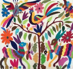 Bordados Otomies Multicolor
