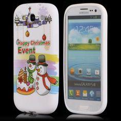 Merry Christmas (Lumiukot) Samsung Galaxy S3 Silikonisuojus - http://lux-case.fi/merry-christmas-lumiukot-samsung-galaxy-s3-silikonisuojus.html