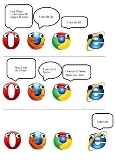 #browser ie, opera, firefox and chrome