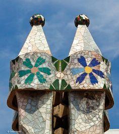Casa Batlló - Antoni Gaudí - Roof Terrace