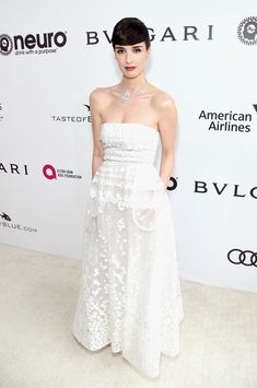 Actor Paz Vega attends the 25th Annual Elton John AIDS Foundation's Academy Awards Viewing Party at The City of West Hollywood Park on February 26, 2017 in West Hollywood, California.