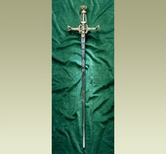 Henry VIII's sword of state that is said to have been given to him by the Pope.| Source: BBC