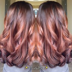 #ShareIG 1st session, Painted Hair. Warm Chestnut brown for Fall.. ☺️ @hannahkabbob