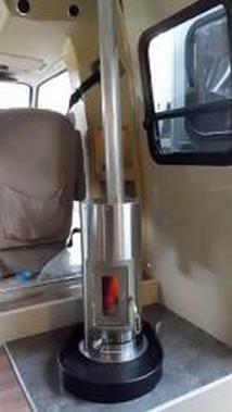 (Kimberley stove in a van, RRJ)