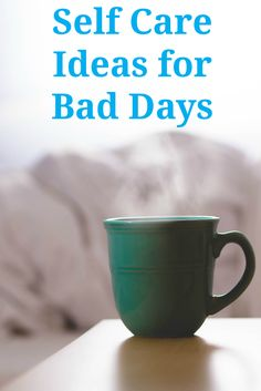 20+ Self Care Ideas for Bad Days | This list of self care activities always helps me through tough times. When bad days strike, it's wonderful to have this list of simple self care ideas to turn to.