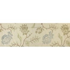 This is what we decided on!  Wayfair had an awesome sale, and I had a coupon.  Got the 8' round.  Found it at Wayfair - Seville Ivory Area Rug