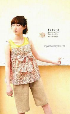 1 DAY SEWING SUMMER CLOTHES - JAPANESE HANDMADE PATTERN BOOK FOR WOMEN - ONE DAY SEWING, LADY BOUTIQUE SERIES - CAMISOLE ONEPIECE DRESS, TUNIC SKIRT 2 by JapanLovelyCrafts, via Flickr
