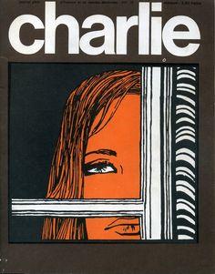 Charlie Mensuel - # 21 - Octobre 1970 - Couverture de Crepax