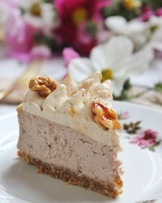 Vanilla Cake, Cheesecake, Sweets, Baking, Food, November, Drinks, Mascarpone, Vanilla Sponge Cake
