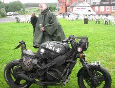 The Scud | BlackRatCustom... Mat black and lovely! Just as a rat should be. Ducati Scrambler Custom, Custom Motorcycles, Custom Bikes, Cars And Motorcycles, Honda Cb 500, American Gods, Bike Style, Super Bikes, Vintage Bikes