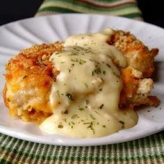 Crispy Cheddar Chicken Recipe from Grandmother's Kitchen