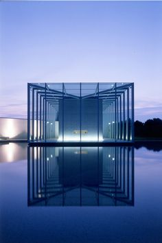 Langen Foundation, private museum in Germany by Tadao Ando _