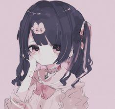 Anime Oc, Anime Chibi, Loli Kawaii, Kawaii Anime Girl, Kawaii Art, Anime Style, Different Art Styles, Anime Poses, Cute Icons