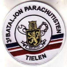 Org Patch: 3e Bataljon Para Para-Commando Belgium