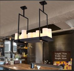 Aliexpress.com : Buy Modern Pendant Lights Round Candle Stand Holders Drop Lamp Lighting Fixture for Restaurant Home Bar Cafe Decor New Fashion from Reliable lamp cut suppliers on Shenzhen M-Home Co. Ltd  | Alibaba Group Home Decor Decoration