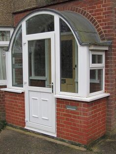 uPVC Porches: A Beautiful Porch for the Masses Aluminium Windows And Doors, Upvc Windows, Upvc Porches, Porch Doors, Glass Partition, Porch Ideas, Diy Projects, House, Beautiful