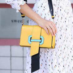 2017 New Color Small Package Yang Mi with Korean Fashion Shoulder Bag All-match Satchel Handbag
