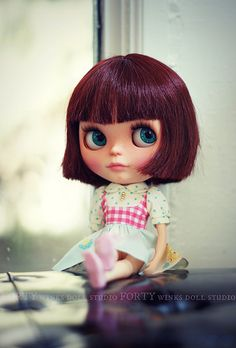 Waiting.... by Forty Winks Doll Studio, via Flickr