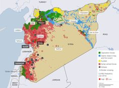 Syria's war zones