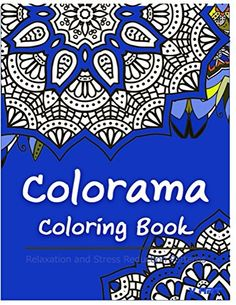 Colorama Coloring Book Adult Stress Reli