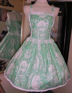 I LOVE this dress soooo much!! The designer is a breath of fresh air into the lolita genre.