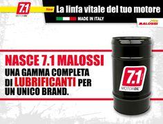 Nasce 7.1 Malossi: un unico brand per una gamma completa di lubrificanti. Scopri tutto sulla nuova linea 7.1 ➠ http://www.malossi.com/7-1-malossi-la-linfa-vitale-del-tuo-motore  7.1 Malossi is here: a unique brand for an exclusive line of lubricants. Find out everything about the new 7.1 line ➠ http://www.malossi.com/en/7-1-malossi-the-lifeblood-of-your-engine