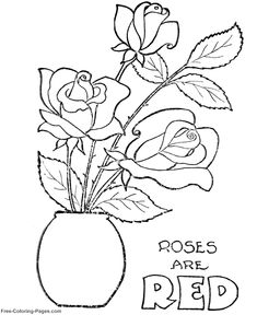 Valentines Day Coloring Pages