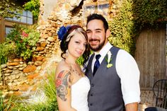 Wedding ceremony at the Cotton Mill