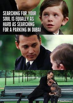 Searching For A Parking In Dubai... Dubai Meme