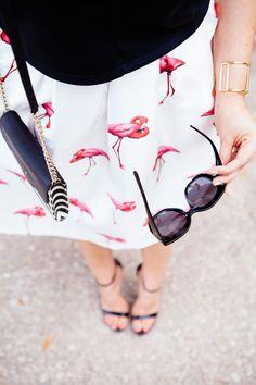 Flamingo love.