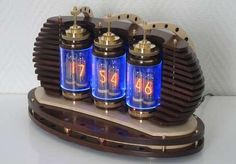 Awesome Lamina Nixie Clock
