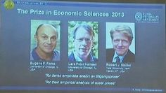 Three Americans awarded Nobel Prize Three Americans awarded Nobel prize in Economics today.  Three Americans Eugene Fama, Lars Peter Hansen and Robert Shiller have been awarded Nobel memorial prize in Economic sciences.