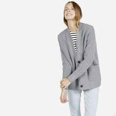 The Chunky Wool Cardigan - Everlane