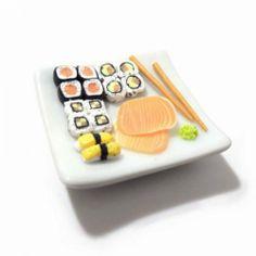 Magnet Assiette de sushis miniature