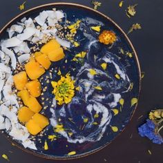 Midnight Smoothie Bowl - Laws of Bliss