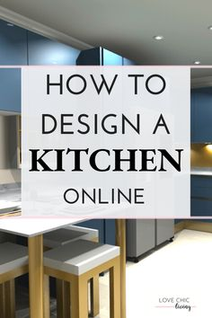 Easy, simple online kitchen design tips using a kitchen design planner. Whether you want a modern, luxury or contemporary kitchen, it's easy to design a new one with an online virtual planner service. Great ideas for a classic or minimalist look in a large, or tiny galley kitchen shape. #kitchendesign #kitchenplanner #lovechicliving Integrated Dishwasher, Kitchen Planner, Relaxation Room, Uk Homes, Stylish Kitchen, Kitchen Trends, Cabinet Design, Modern Luxury, It's Easy