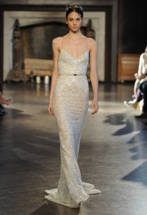 Inbal Dror Wedding Dresses Fall 2015 | Maria Valentino/MCV Photo | Blog.theknot.com