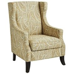 This would work in our sitting room - two of them----------->Alec Wing Chair - Sand Paisley